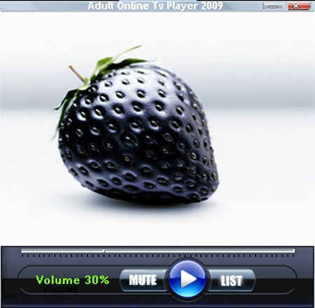 Adult Online TV Player 2009. Update version of the free program for