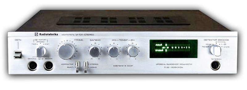 Усилитель на радиотехника-у-101